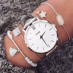 Kendra Scott Jewelry - Kendra Scott Rose Quartz Elaina Bracelet